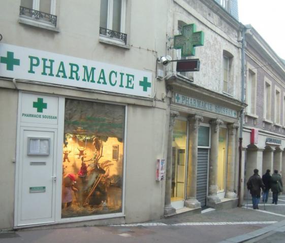 La Pharmacie Soussan à Noël, rue Alexandre Legros