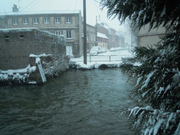 Tempête en Mars 2013 - rue de l'Innondation
