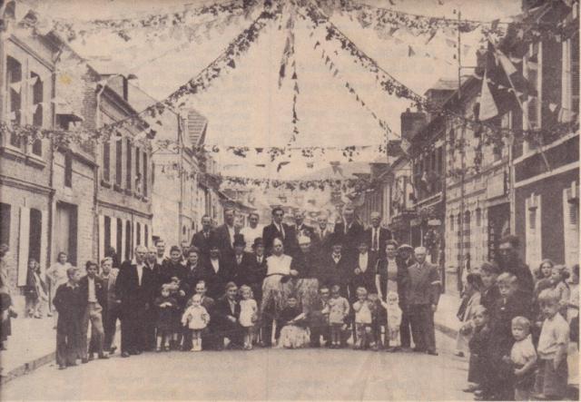 Comité des fêtes de la rue queue de renard, 1945