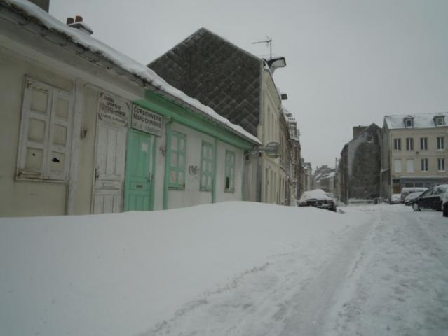 Rue de Mer, tempête de neige 2013