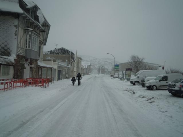 Avenue jean Lorrain, tempête de neige 2013
