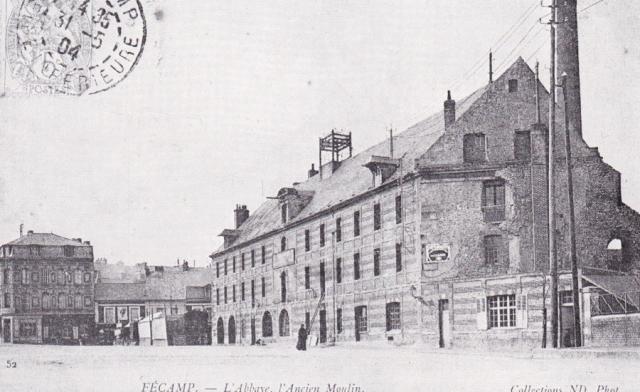 L'Ancien Moulin, et usine d'électricité, Place du Gal Leclerc