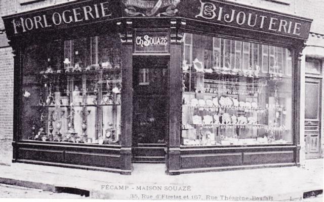 Rue du Pdt René Coty, anciennement Rue d'Etretat