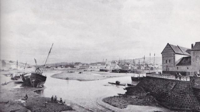La retenue du Port en 1877