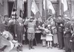reception d'une délégation serbe en Août 1937 - Gustave Couturier
