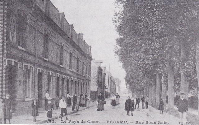 Avenue Jean Lorrain, anciennement rue Sous-le-bois