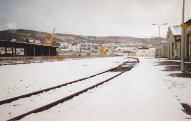 La Gare, hiver 2008