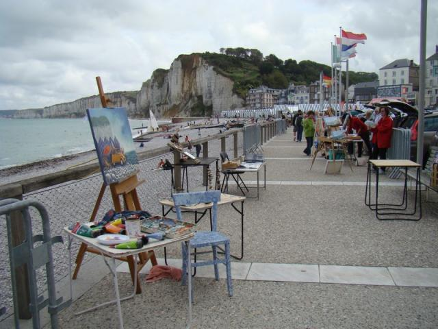 Fête de la Mer et de la Peinture 15/8/2015  YPORT