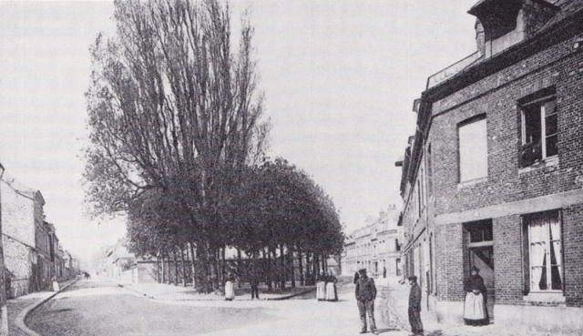rue de l'Inondation, rue de l'Aumône