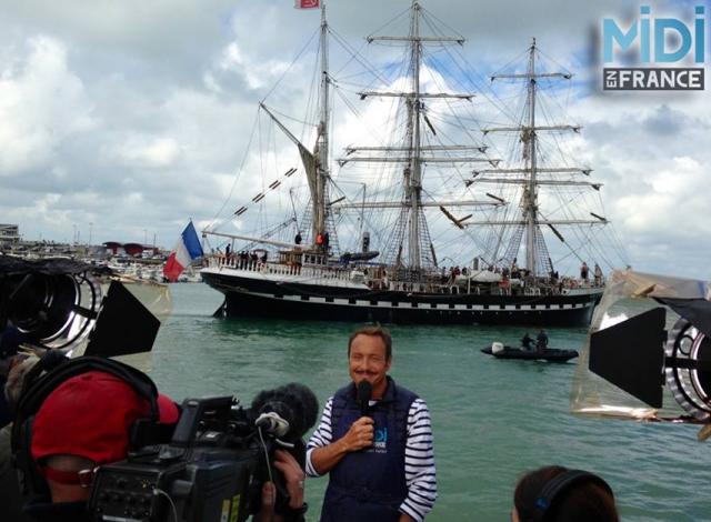 Le Belem, Vincent Ferniaud, l'émission Midi en France