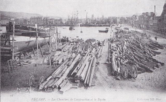 Dundee en construction vers 1905