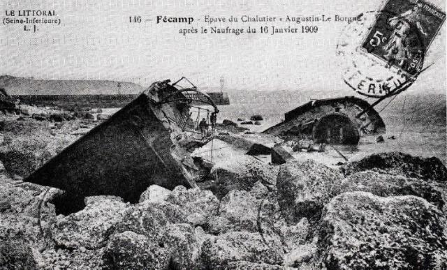 Naufrage de l'Augustin-Le Borgne