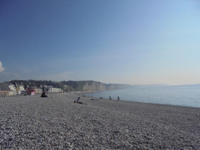 Une journée de printemps sur la plage