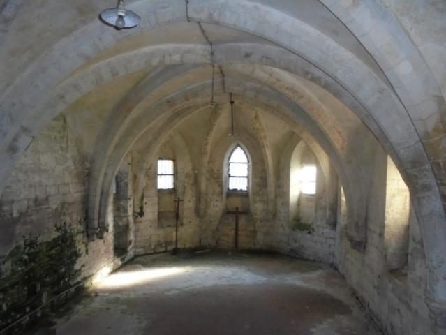 Chapelle de la vierge sous l'abbatiale