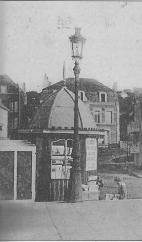 Kiosque à journaux de la plage - 1926 -