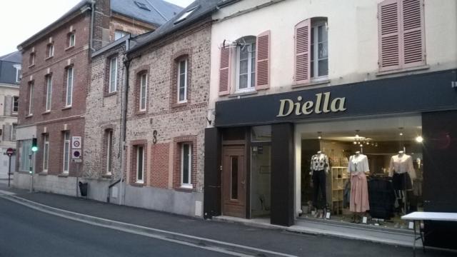 Rue Jean-Louis Leclerc, enseigne Diella