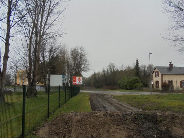 L'ancienne voie ferrée Fécamp-Valmont déposée