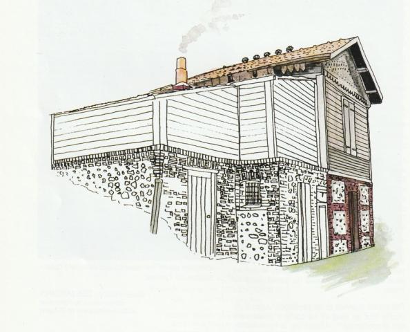 La Maison du gardien des terrains de la Côte de la vierge
