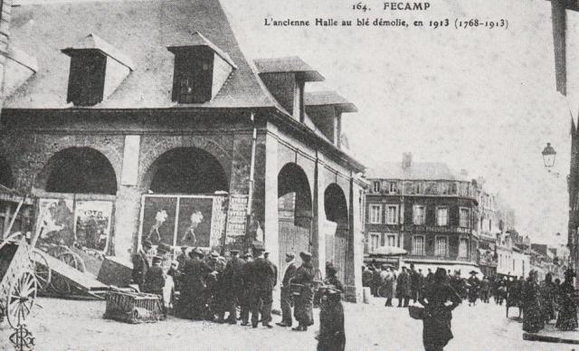 L'ancienne Halle au blé démolie en 1913
