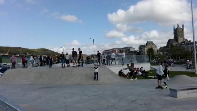 Skate Park inauguré le 20 Avril 2018