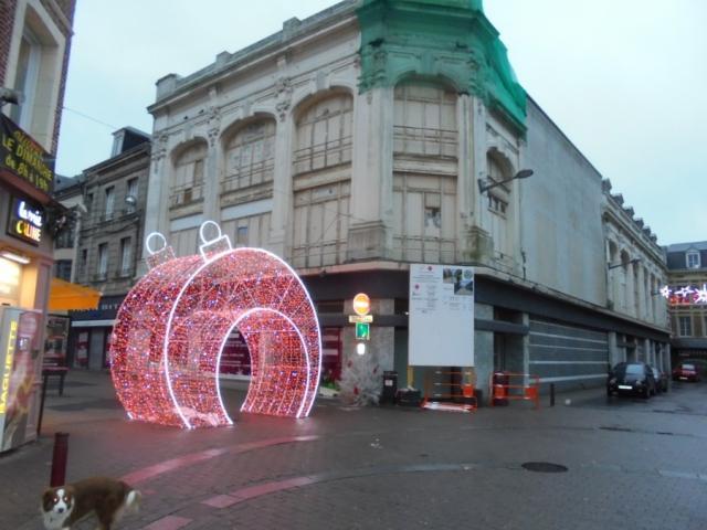 Le Monoprix, définitivement fermé en 2018, rue Jacques Huet