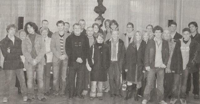 Les membres de l'Asso les Artisans du Rêve à leur création en 2007