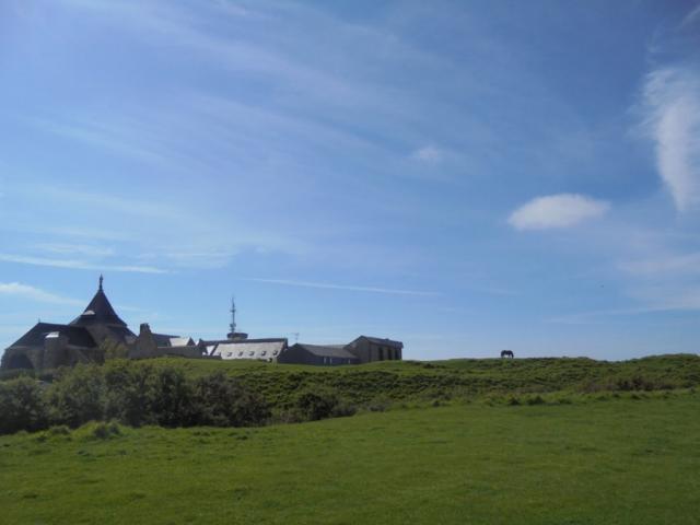 Côte de la vierge et vue sur Notre Dame de Salut