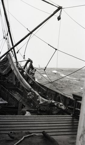 sur le sham en mer blanche
